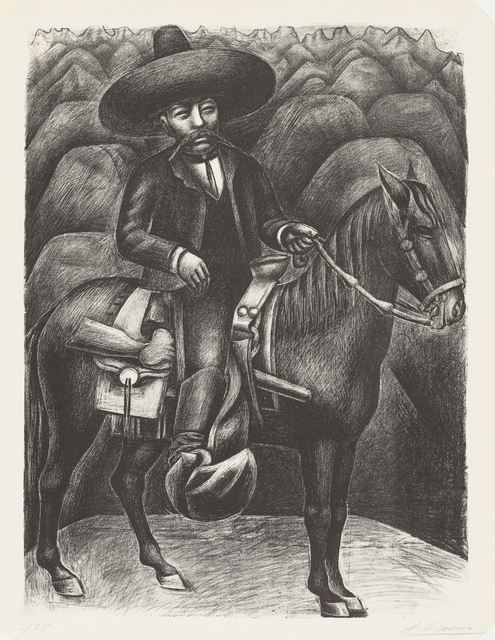 , 'Zapata,' 1931, Philadelphia Museum of Art