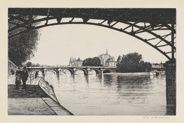 , 'La Cite, Paris,' 1926-1927, Osborne Samuel