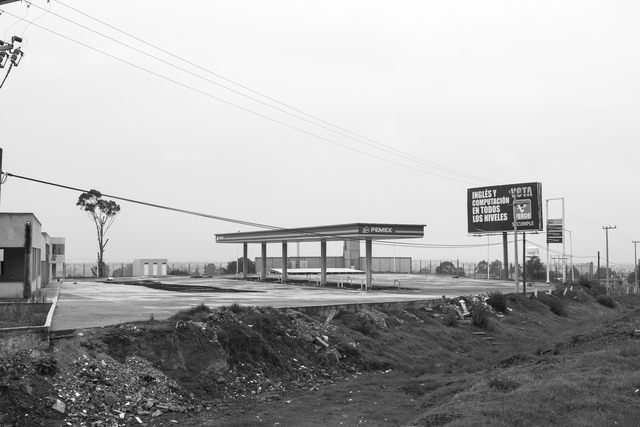 , '26 Used to be Gasoline Stations (Salida a Puebla 1, México DF),' 2007-2015, Machete