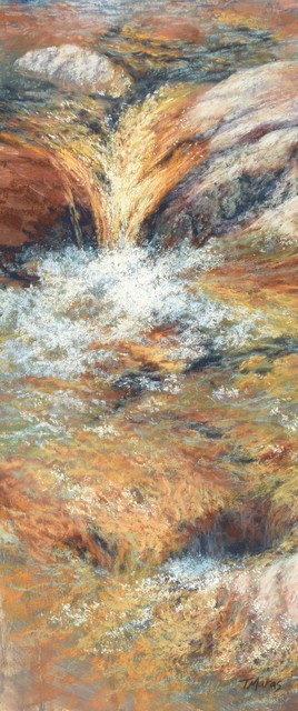 , 'Liquid Gold I,' 2018, Springfield Art Association