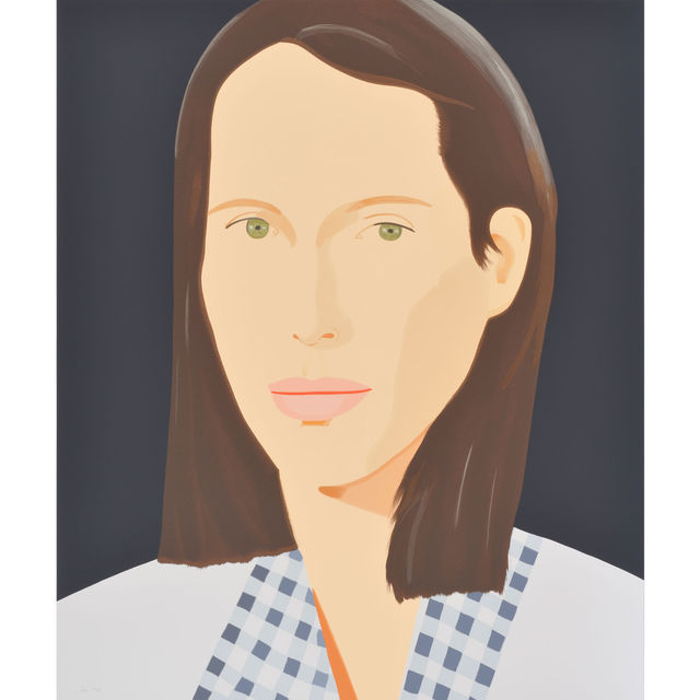 Alex Katz, 'Christy', 2013, Print, Serigraph in colors on Saunders Waterford Paper, Pop Fine Art