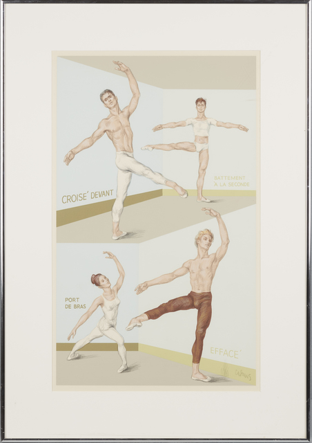 Paul Cadmus | Four Ballet Positions | Available for Sale | Artsy
