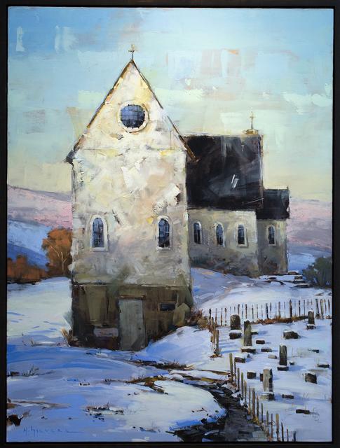 Matthew Sievers, 'Snowy Church', 2018, Blue Rain Gallery