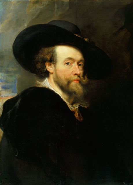 , 'A self-portrait,' 1623, Royal Collection Trust