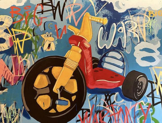 Frank Buffalo Hyde, 'EPOCHS - WAR PONY', 2019, Gallery Fritz