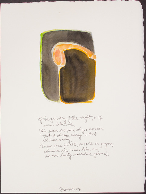 , 'Of the privacy of the night...,' 2004, BlackBook Presents