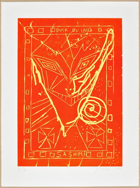 , 'GRINS' DOCH nicht so KULTURELL, sieh' Fu bläh'!,' 2012, Galerie Sabine Knust