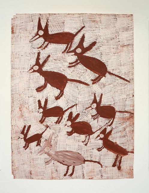 Nyapanyapa Yunupingu, 'Djorra (paper) 6', 2014, Roslyn Oxley9 Gallery