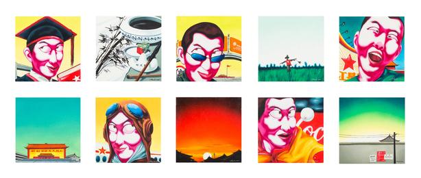 Untitled (ten works)