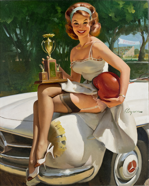 , 'Trophy Girl - A Winner,' 1960, Louis K. Meisel Gallery