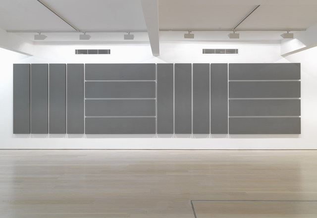 , 'Vertical and Horizontal Canvases in 16 Parts,' 1992, Annely Juda Fine Art