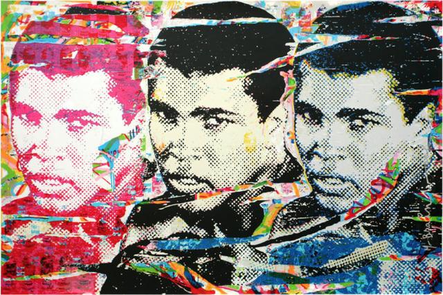 Mr. Brainwash, 'Muhammad Ali – The Champ', 2010, Print, Screenprint, Vanessa Villegas Art Advisory