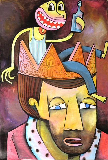 , 'Einen in der Krone,' 2016, Joerg Heitsch Gallery
