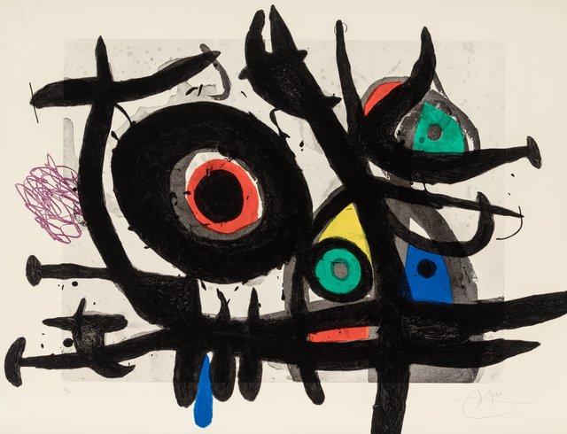Joan Miró, 'L'Oiseau Destructeur', 1969, Heritage Auctions