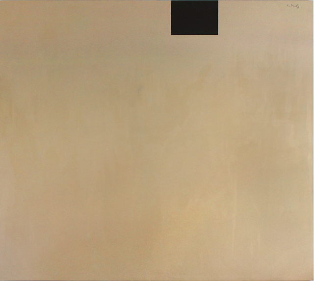 , 'Open No. 161: In Beige with Black,' 1970, William Shearburn Gallery