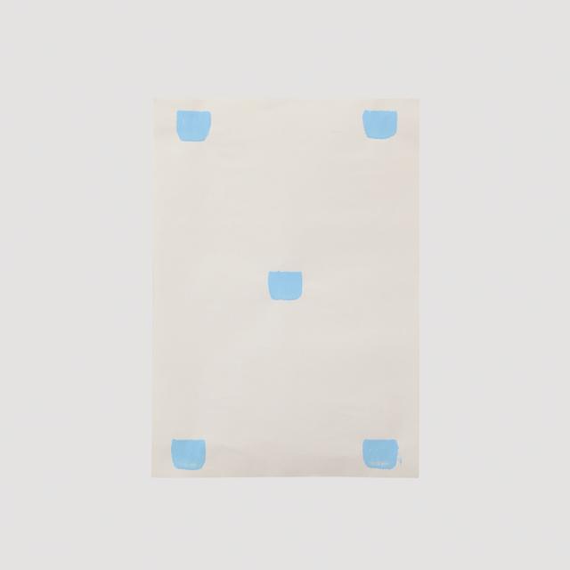 Niele Toroni, 'Impronte di pennello n. 50 a intervalli di 30 cm', 2011, A arte Invernizzi