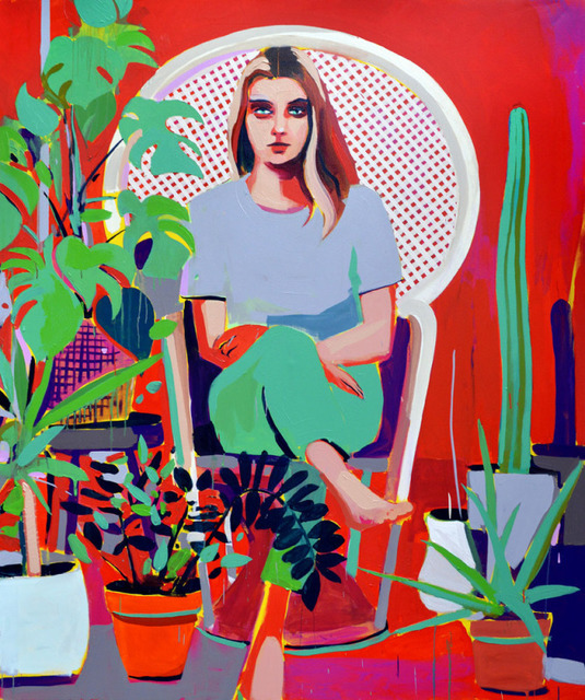 Patrick Puckett, 'House Plants', 2019, Wally Workman Gallery