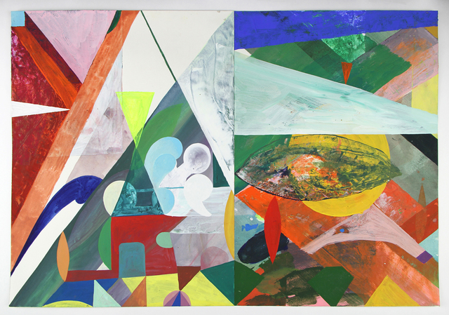 Matt Rich, 'Pyramid & Football', 2017, LaMontagne Gallery
