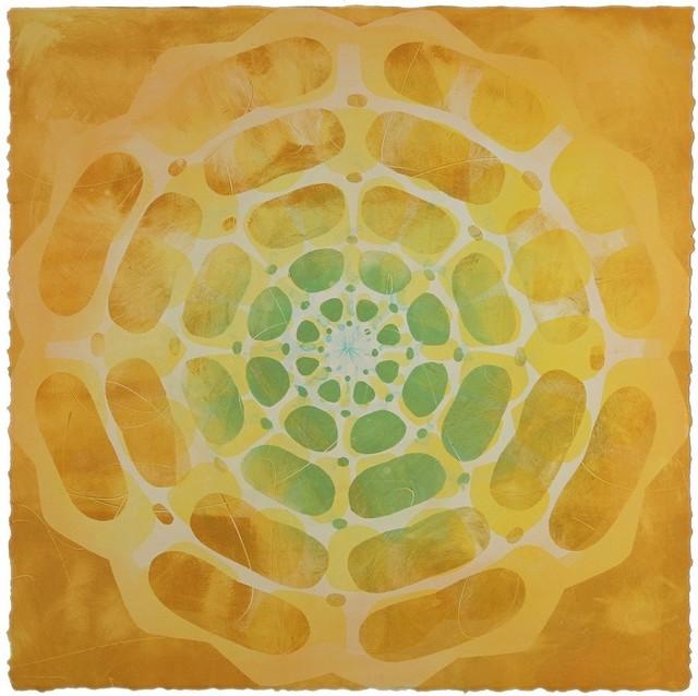 Katherine Warinner, 'Radial Geometry #17', 2018, Print, Monotype, JAYJAY