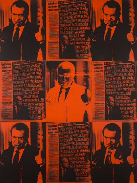 , 'War on Blacks,' 2016, Joseph Gross Gallery