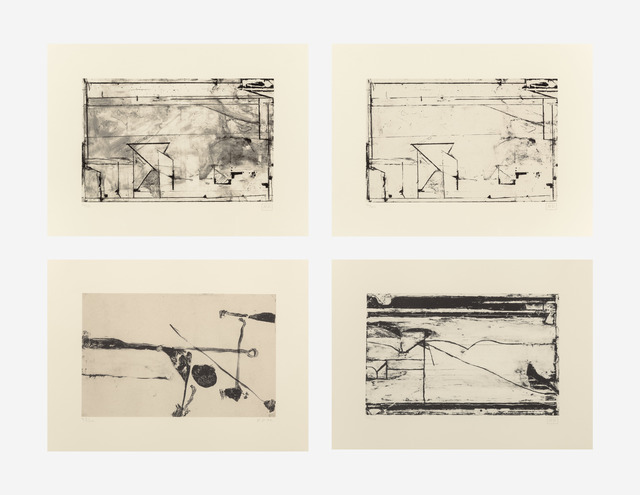 Richard Diebenkorn, 'Untitled #2, #4, #5, and #6 (four works)', 1992-1993, Heritage Auctions