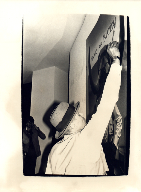 Andy Warhol, 'Andy Warhol, Photograph of Joseph Beuys, 1980', 1980, Hedges Projects
