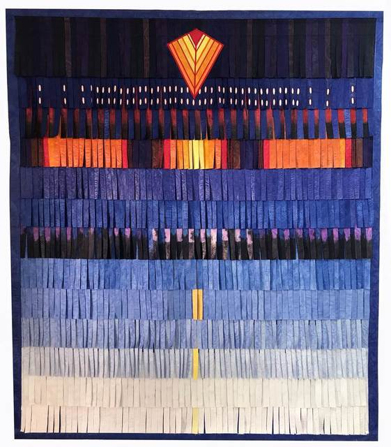 , 'Composition bleue (figure géométrique orange),' 2018, Blain   Southern