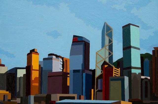 , 'Hong Kong Waterfront II,' 2016, Cynthia Corbett Gallery
