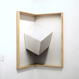 , 'Corner Cube,' 2013, Luis De Jesus Los Angeles