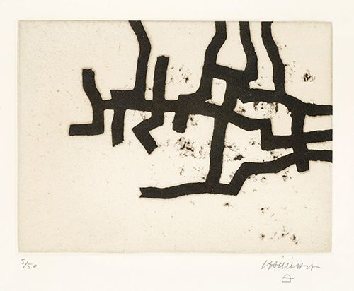 Eduardo Chillida, 'Continuation III', 1966, Cristea Roberts Gallery
