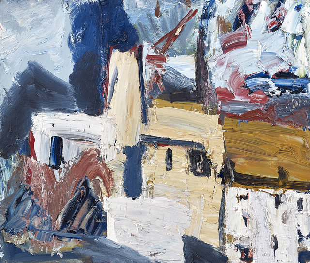 , 'White Hoose with Blue Smoke,' , The Scottish Gallery