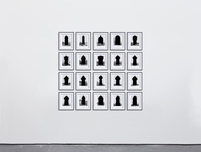 , 'Water Towers,' 2015, Max Estrella