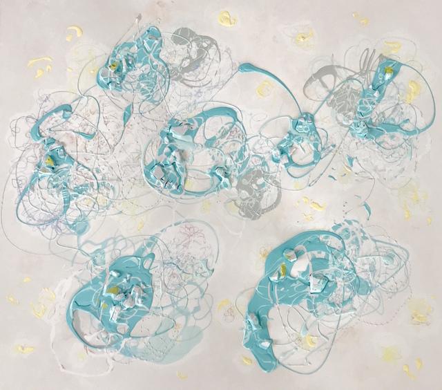 , 'Six worlds of Blue,' 2017, Davidson Art Advisory