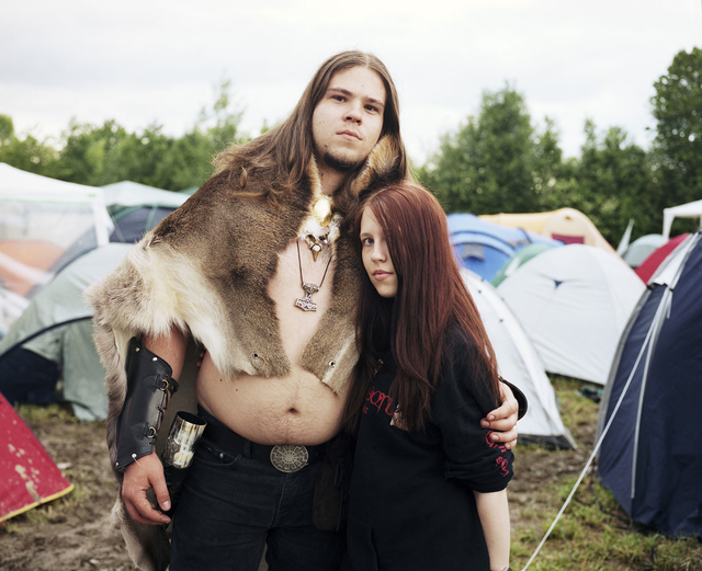 , 'Embracing Couple II Summer Nights Festival, Mining am Inn, Austria May 2009,' 2009, Gestalten