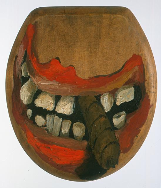 , 'No Title (toilet lid),' c. 1962-1963, Punta della Dogana
