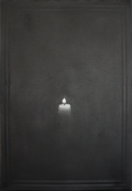 , 'Candle 3,' 2015, Foley Gallery