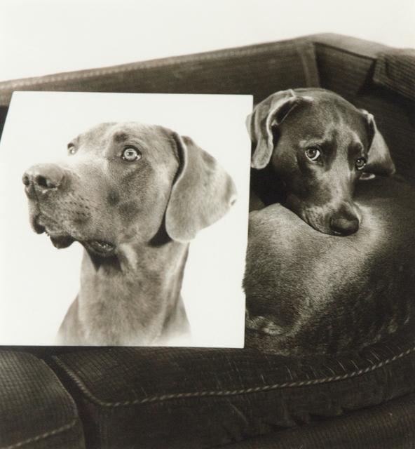 William Wegman, 'Double Portrait (From Man Ray: A portfolio of 10 Photographs)', 1982, Heather James Gallery Auction