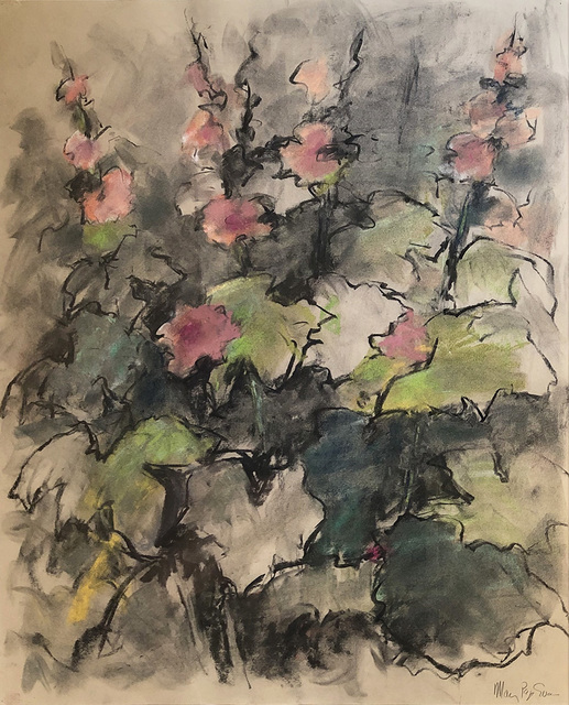 Mary Page Evans, 'Goodstay Hollyhocks', 2010, Somerville Manning Gallery
