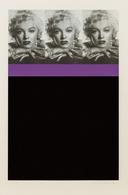 Peter Blake, 'Marilyn Monroe, Black', 2009, Forum Auctions