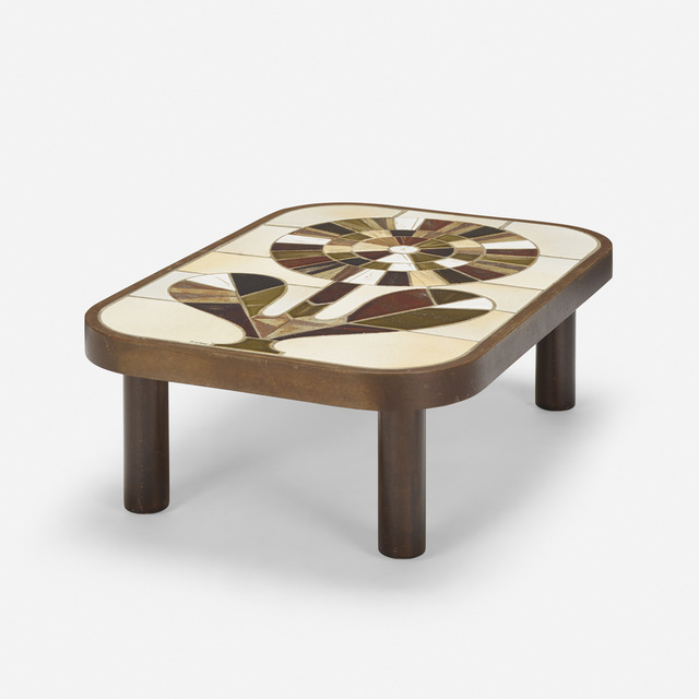 Vallauris, 'coffee table', c. 1965, Wright