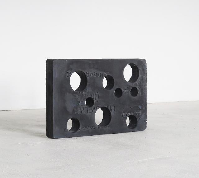 , 'Black mastercard,' 2017, Die Ecke Arte Contemporáneo