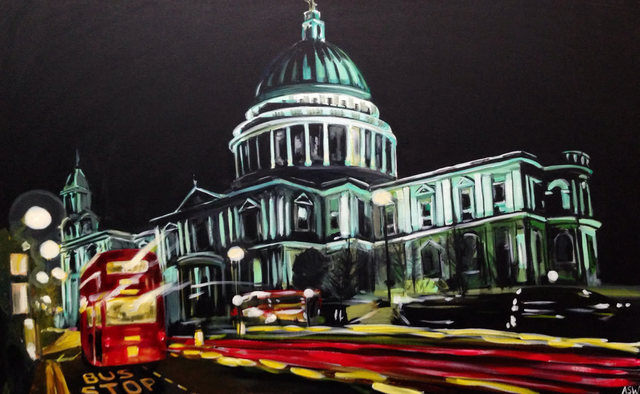 Angela Wakefield, 'St Paul's Cathedral, City of London', ca. 2008, Ascot Studios