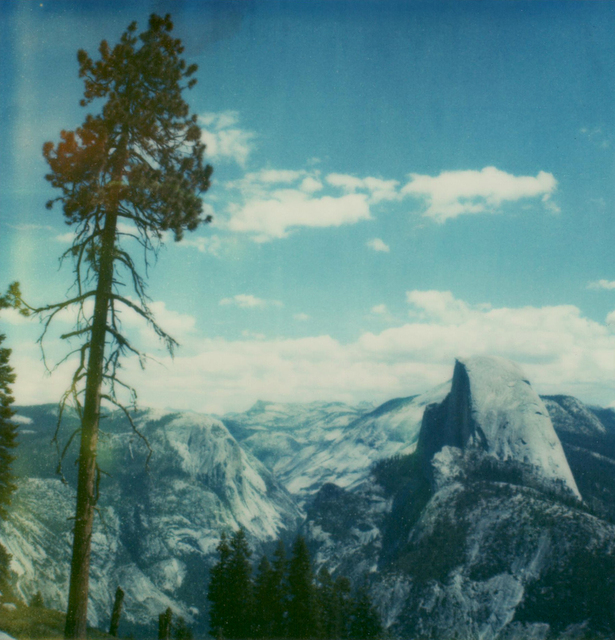 Carmen de Vos, 'Yosemite #134 - from the series US Road trip Diary ', 2007, Photography, Archival pigment print on canvas, photo based on an expired Polaroid, Instantdreams