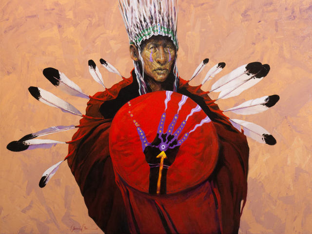 , 'Shaman's Hand,' 2018, Endeavor Fine Art