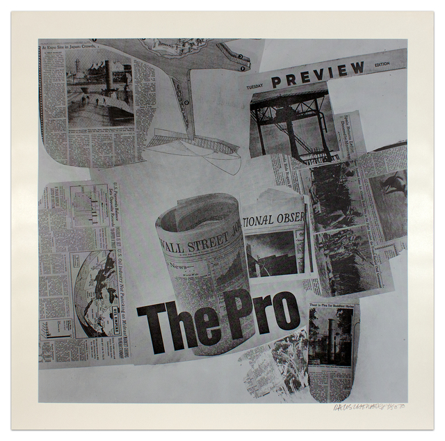 , 'Features from Currents #71,' 1970, Krakow Witkin Gallery