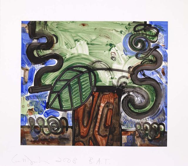 Carroll Dunham, 'Big Leaf,' 2008, Senior & Shopmaker Gallery