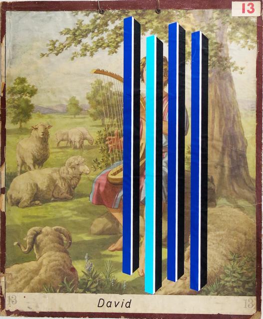 , 'David, de la serie Transfiguraciones,' 2016, Galería Lucia de la Puente