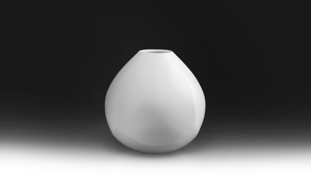 , 'White Porcelain Faceted Jar,' 2017, Onishi Gallery