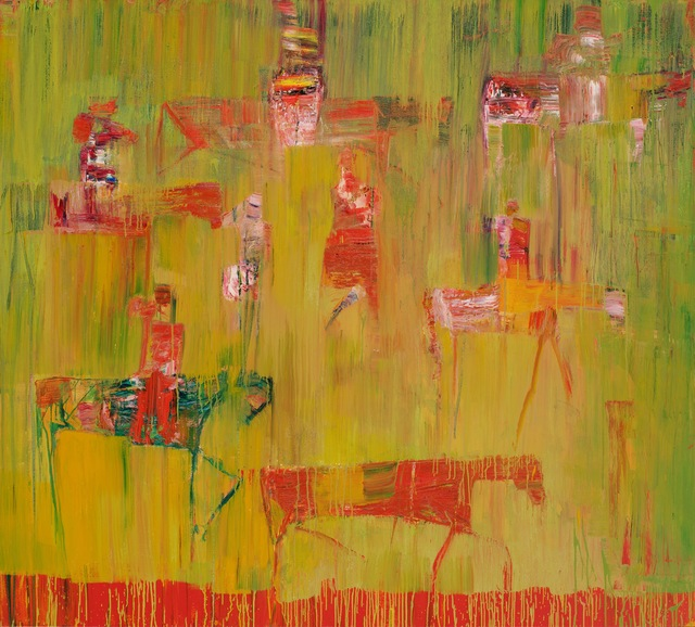 , 'Red Green Hunt,' 2015, Sophia Contemporary