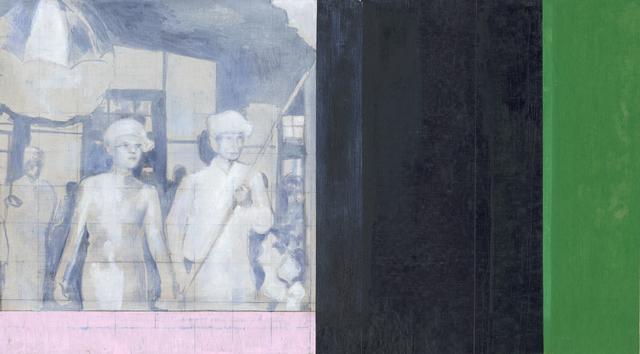 Sawangwongse Yawnghwe, 'Untitled (green and grey)', 2019, TKG+